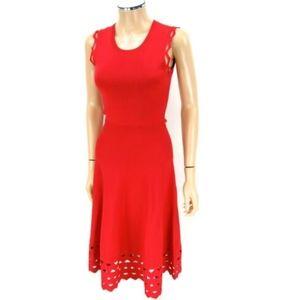 MAJE Dress RUMBA Knitted Red SIZE 1 US 2-4 XS